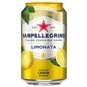 San Pellegrino Limonata Can 330mL